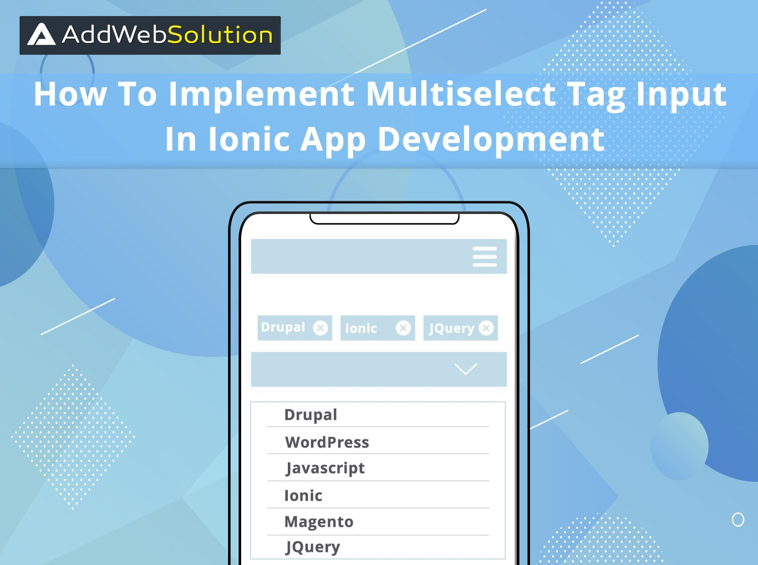 How To Implement Multi Select Tag Input In Ionic App Development