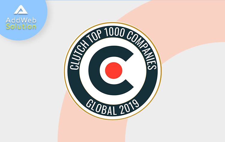 'AddWeb Solution' amongst the top 1000 IT-Companies - Global 2019