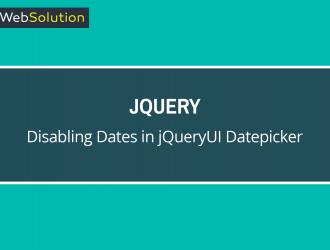 Disabling Dates In JQueryUI Datepicker